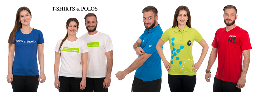 T-Shirt & Polo-Shirt bedrucken