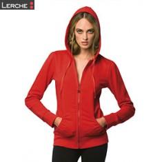 Ladies' Hooded Zip Sweat B&C
