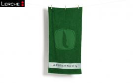 Bestickte Handtücher aus hochwertigem Walk- oder Zwirnfrottier