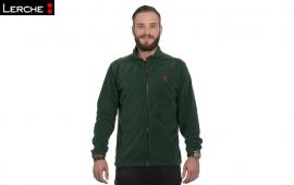 Hochwertige und wärmende Fleece-Jacke der Marke Hakro mit individuellen Werbestick für Houdek