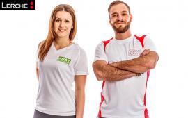 Funktionelle und robuste Laufshirts für Herren und Damen mit individuellen Werbedruck
