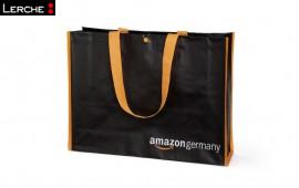 Nachhaltige und trendige PP Woven Einkaufs-Taschen bedruckt für Amazon
