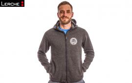 Hochwertige Strickfleece-Jacke mit individuellen Logostick für IG Metall Ingolstadt