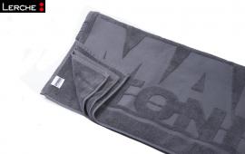 Frottier-Duschhandtuch mit Logo-Einwebung