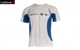 Atmungsaktive Laufshirts bedruckt für die BMW Group