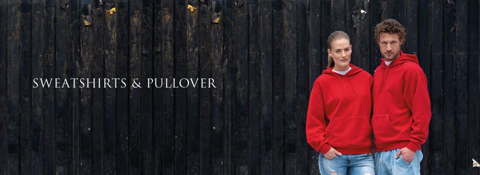 Sweatshirts & Pullover bedrucken & besticken