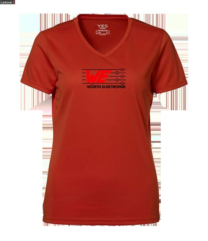 "Damen Laufshirt ""Yes Active Shirt"" ID Identity"