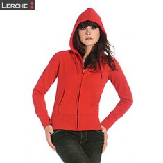 Ladies' Hooded Full Zip B&C