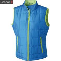 Ladies' Padded Light Weight Vest James & Nicholson