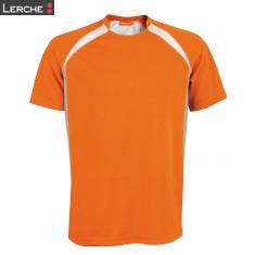 Dreifarbiges Sport-Shirt Unisex