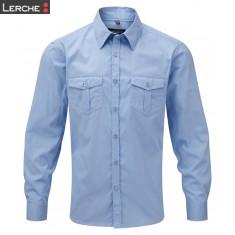Men's Roll Sleeve Shirt LS Russell