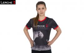 Lerche Fullover bedrucktes Laufshirt von Hersteller Lerche sportswear für B2RUN Firmenlauf München