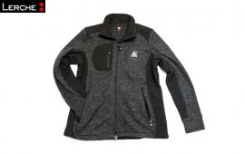 Hochwertige Strickfleece Jacke mit individuellen Werbelogo für IG Metall Bezirk Bayern