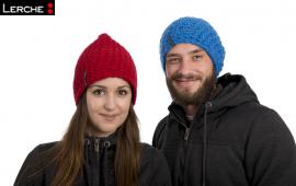 Lässige Oversize Werbe-Häkelbeanie Mützen für Damen und Herren - Das Werbemittel für kalte Jahresezeiten