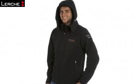 Bedruckte Softshell Jacken mit Kapuze für Bosch Solar Energy
