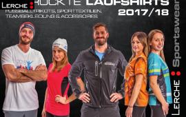 Lerche: Laufshirt Katalog 2017 / 2018