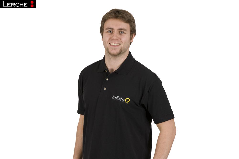 Poloshirt Brust Als Mit Auf Arbeitskleidung Logo Stick He2E9IWYD
